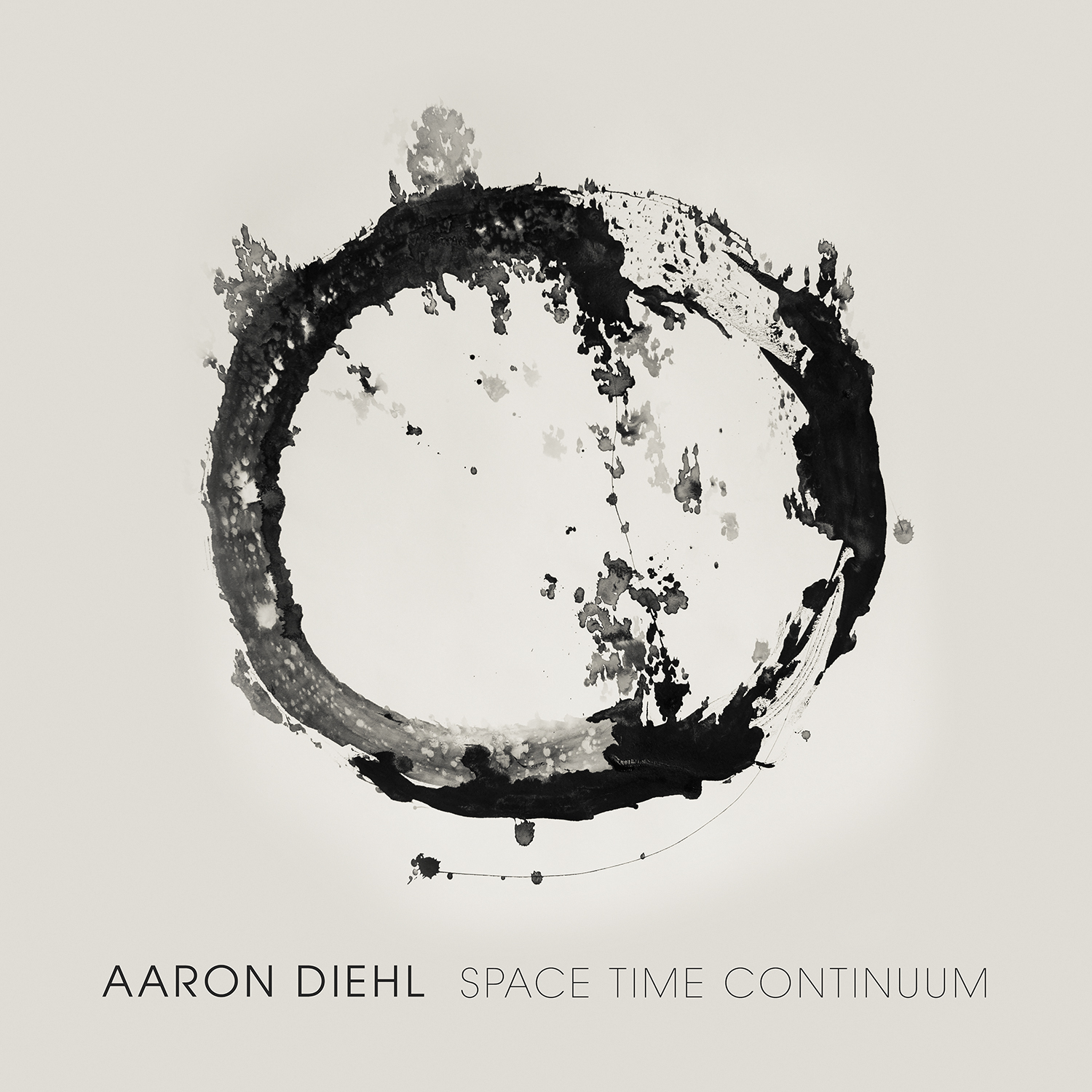 Aaron Diehl - Space, Time, Continuum - Cover Image
