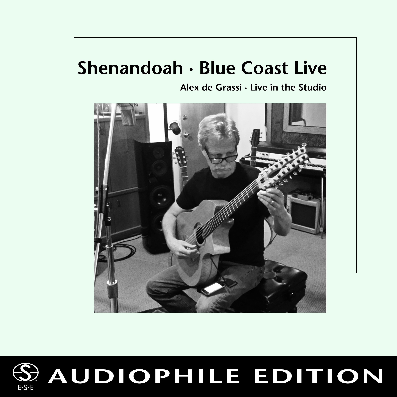 Alex de Grassi - Shenandoah-Blue Coast Live - Cover Image