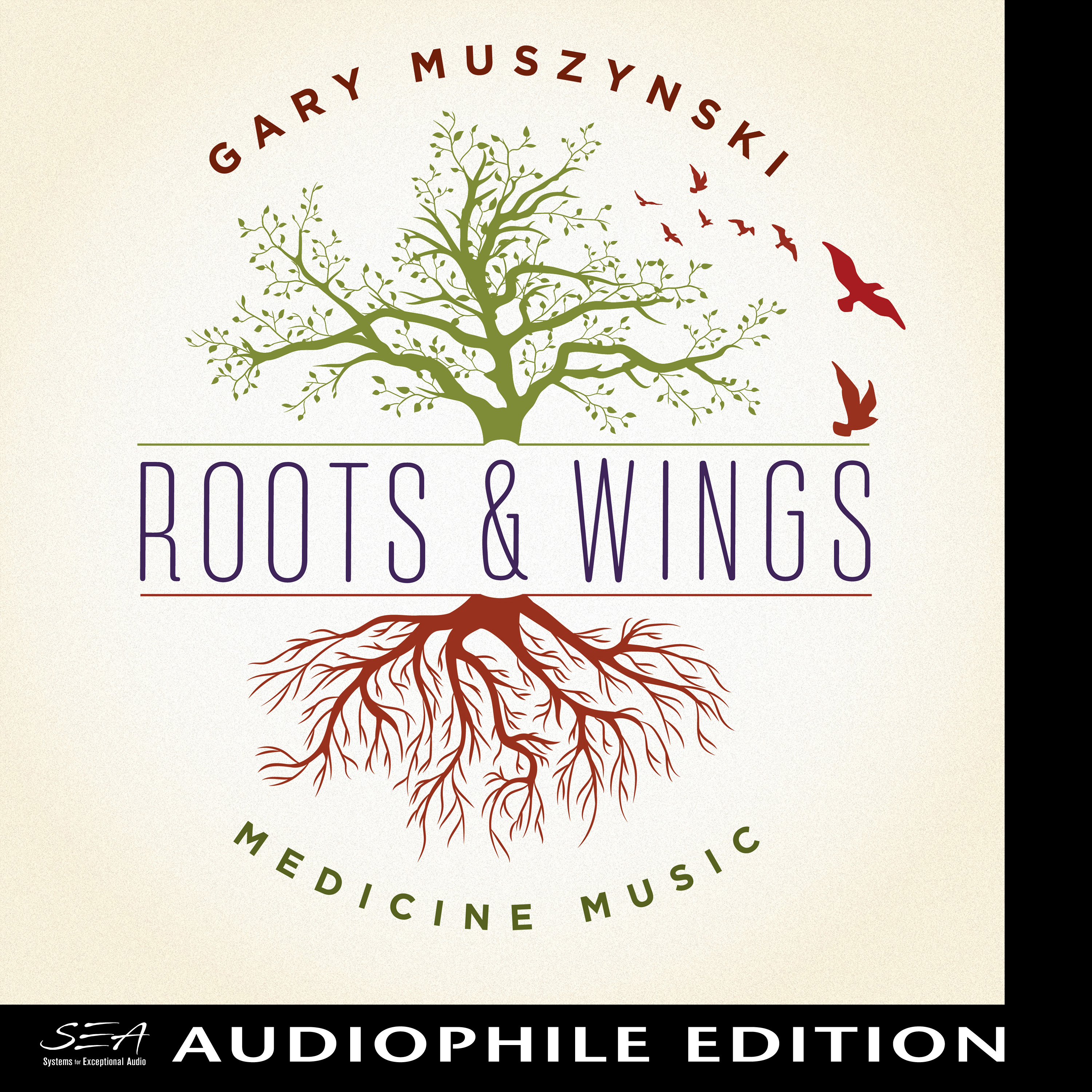 Gary Muszynski - Roots & Wings - Cover