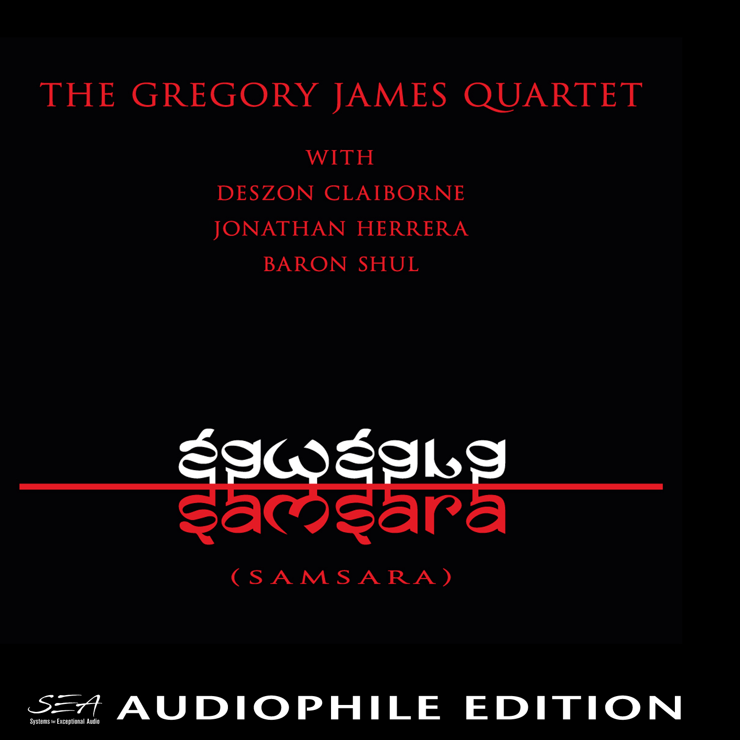 Gregory James - Samsara - Cover Image