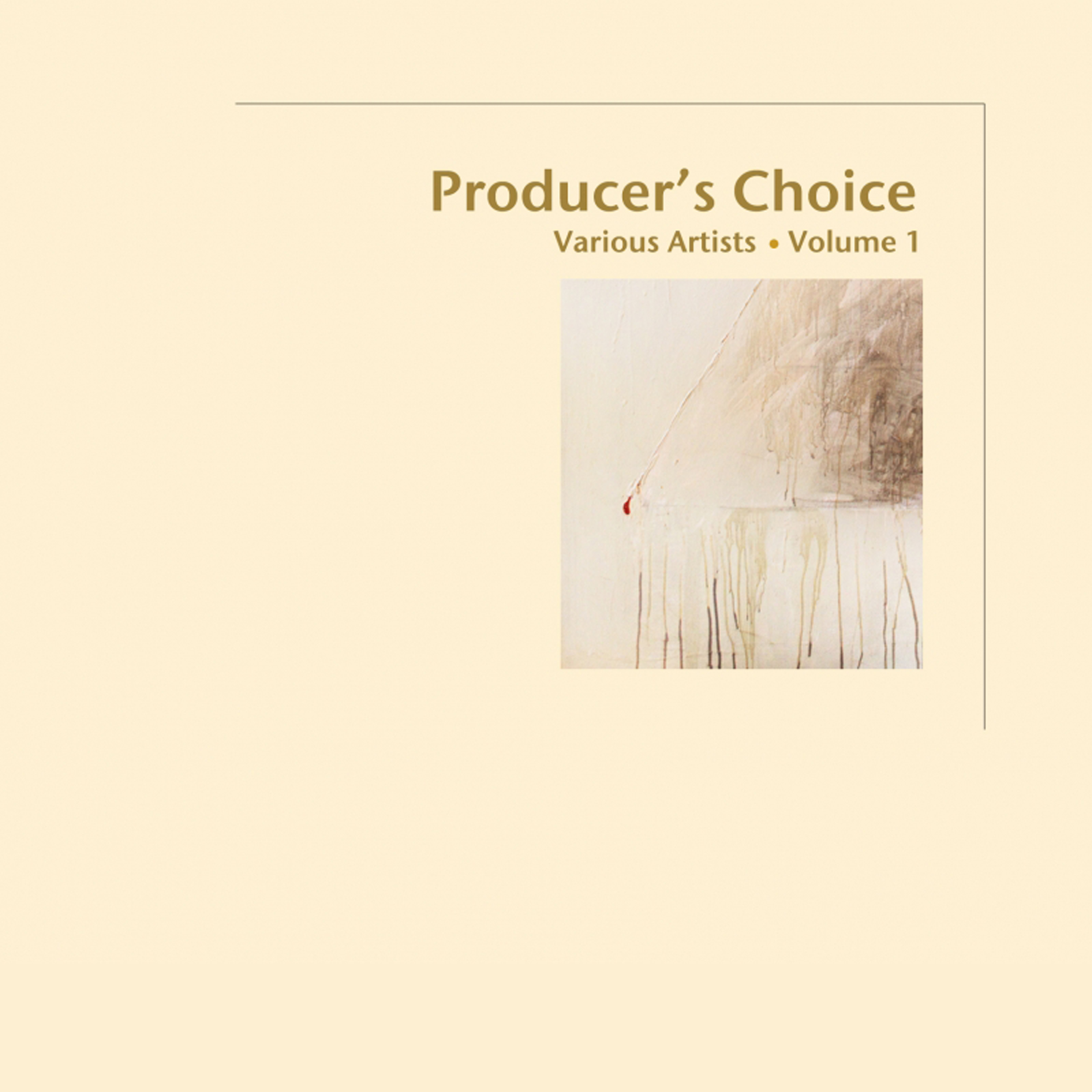 Blue Coast Records - Producer's Choice Volume 1 - Cover Image