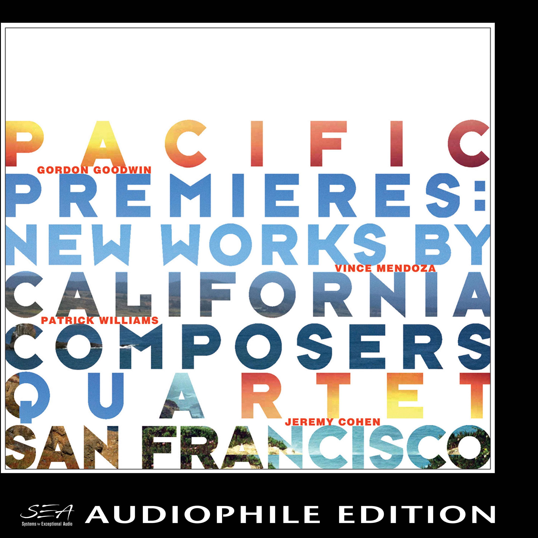 Quartet San Francisco - Pacific Premieres - Cover Image