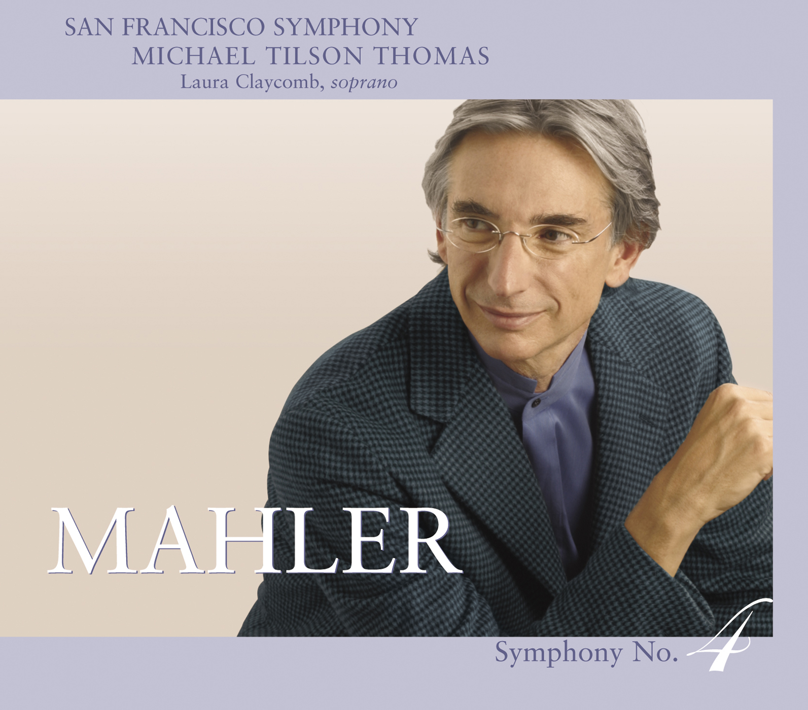 San Francisco Symphony Mahler No. 4 - Cover Image