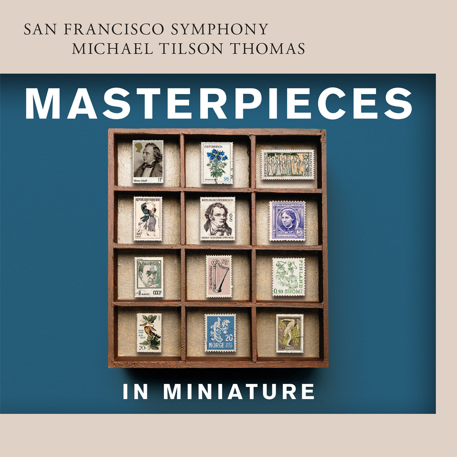 San Francisco Symphony - Masterpieces in Miniature - Cover Image