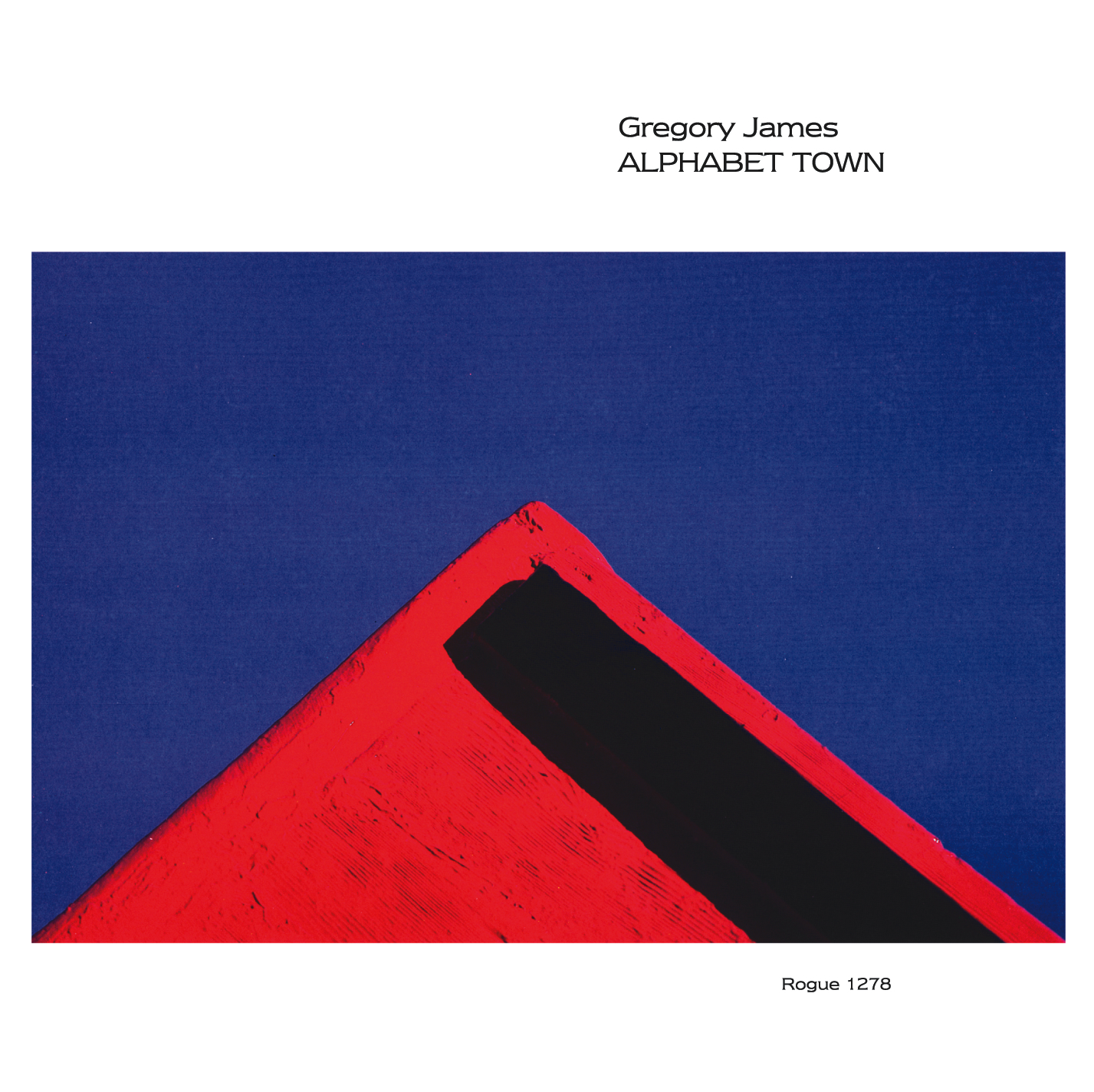 Gregory James - Alphabet Town - Valence Records - Cover Image