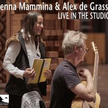 Jenna Mammina & Alex de Grassi - Live in the Studio - Cover