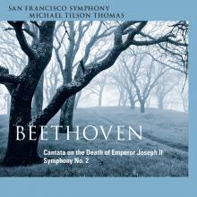 San Francisco Symphony - Beethoven 2 - Cover Image
