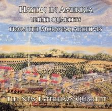 New Esterhazy Quartet - Haydn in America - Cover Image