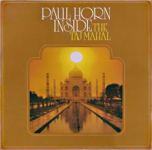 Paul Horn - Inside The Taj Mahal - Cover Image