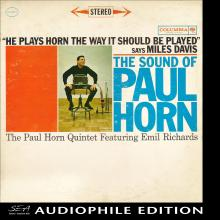 Paul Horn - The Sound of Paul Horn - Cover Image